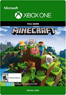 Minecraft - Xbox One [Digital Code]: Video Games - Amazon com