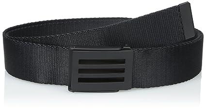 df105d0c08a286 adidas Golf Men's Webbing Belt, Black, One Size: Amazon.in: Sports ...
