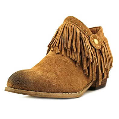 Stall Women Round Toe Suede Ankle Boot