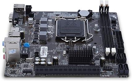 carte mere et processeur FairytaleMM Compatibity H81 1150 Ordinateur Gigabit Ether