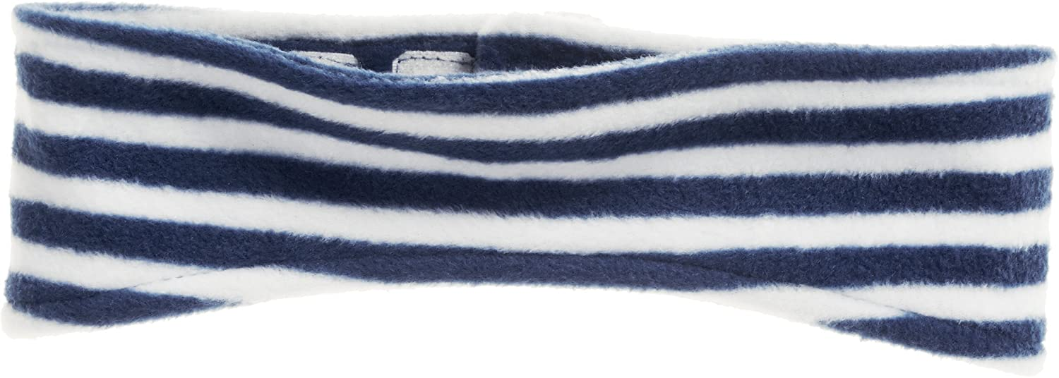 Playshoes Boy's Warmes Kinder Fleece-stirnband Maritim Headband, Blue (Marine/weiß 171), One Size 422016
