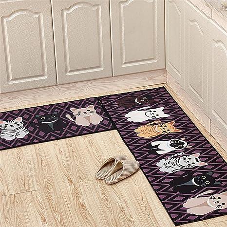 Yoxi, tappeto per la casa e la cucina, moderno, fondo in gomma ...