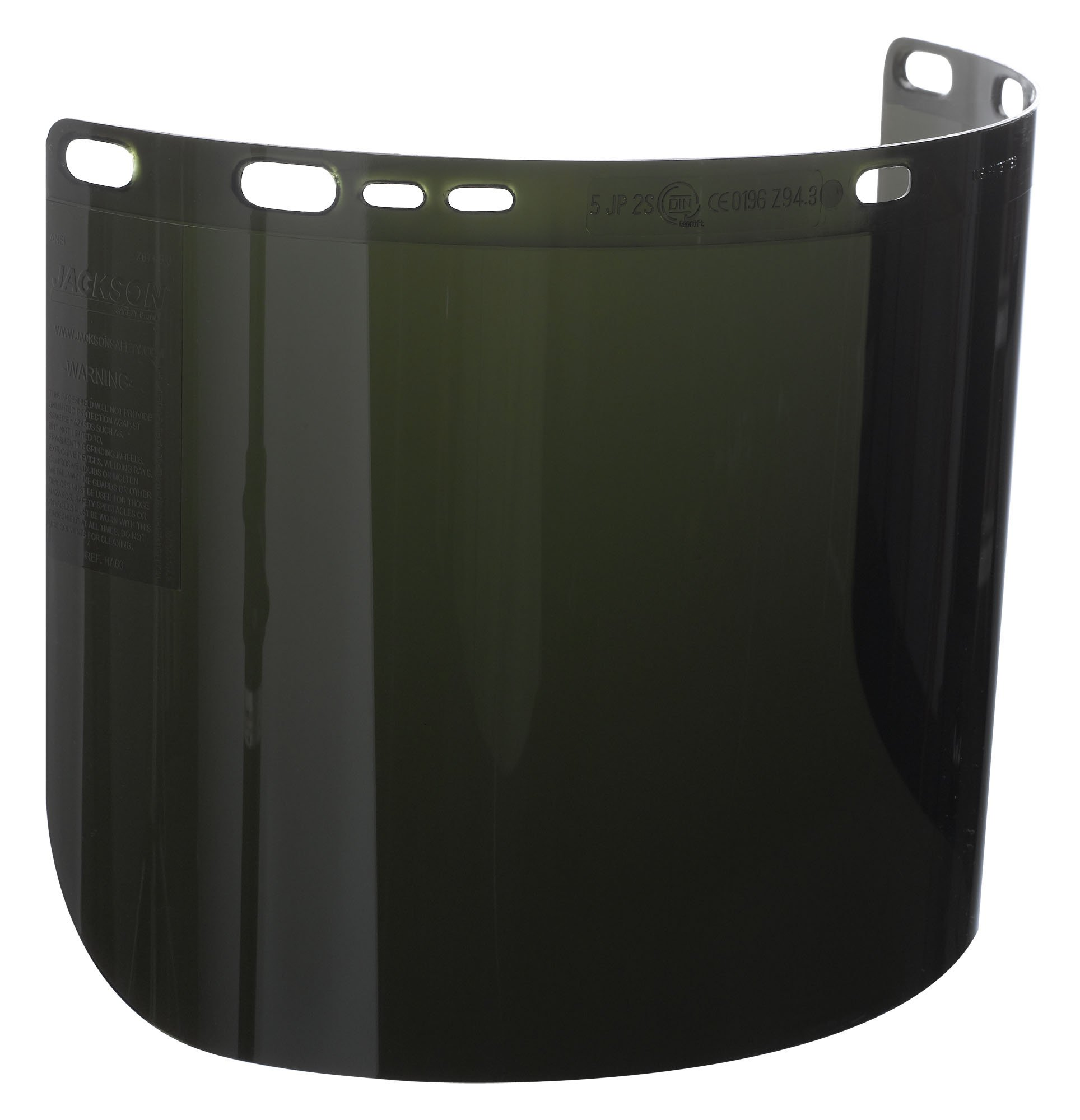 Jackson Safety F50 IR/UV 5.0 Polycarbonate Special Unbound Face Shield, 15-1/2'' Length x 8'' Width x 0.060'' Thick (Case of 12)
