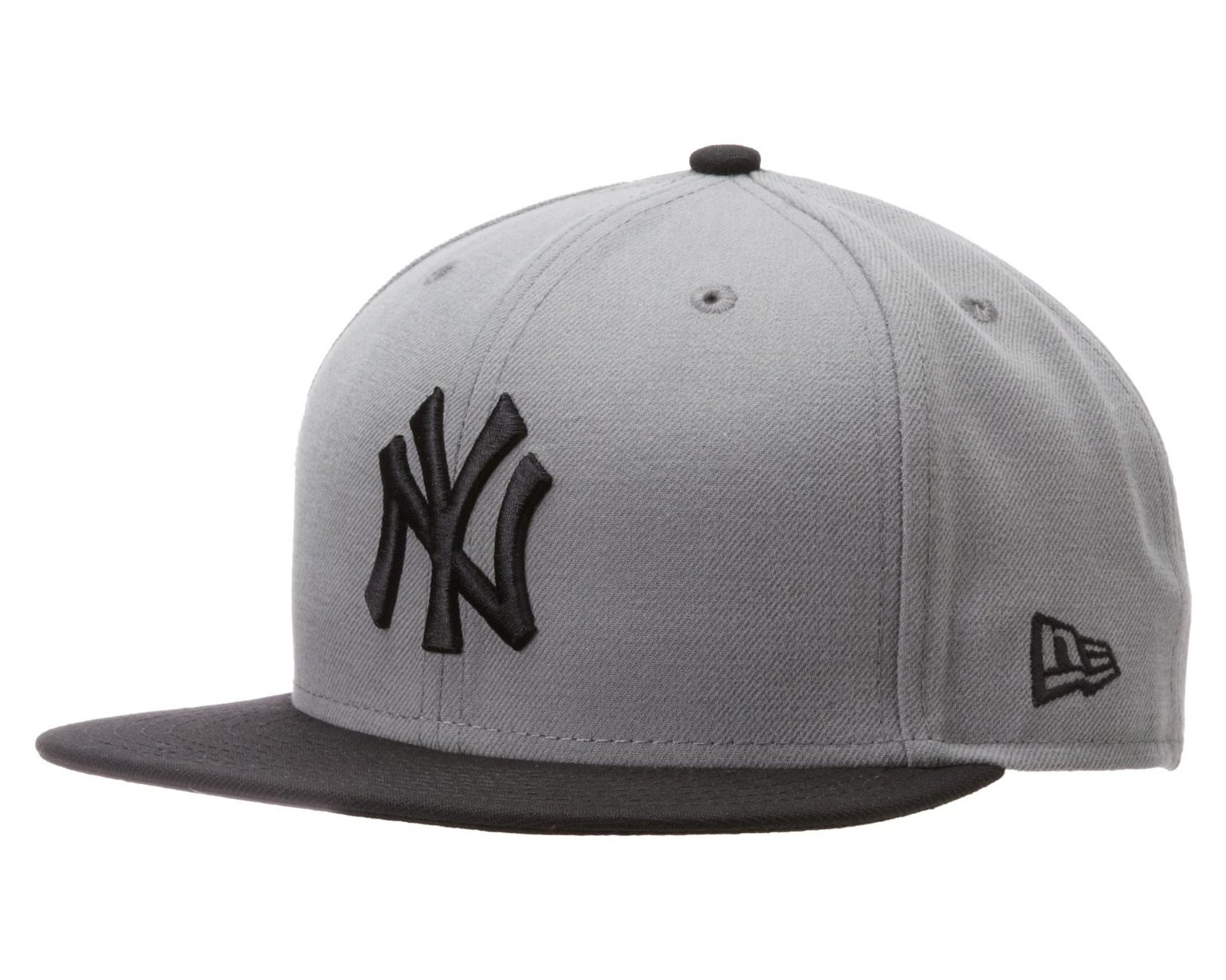 reputable site 9769b b95d1 Galleon - MLB New York Yankees MLB Basic Stm Gry 59Fifty, STORM GRAY BLACK,  7 1 2