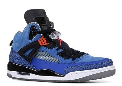 6ebcaa15d932 Nike Men s Air Jordan Spiz ike Blue Ribbon Orange Flash-Black-White