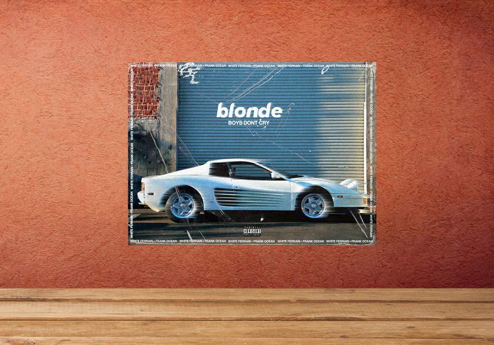 Amazon Com Frank Ocean White Ferrari Poster Print Wall Decor Gift Handmade