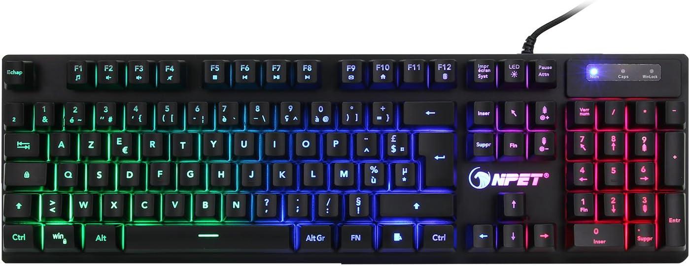 NPET K110 AZERTY teclado