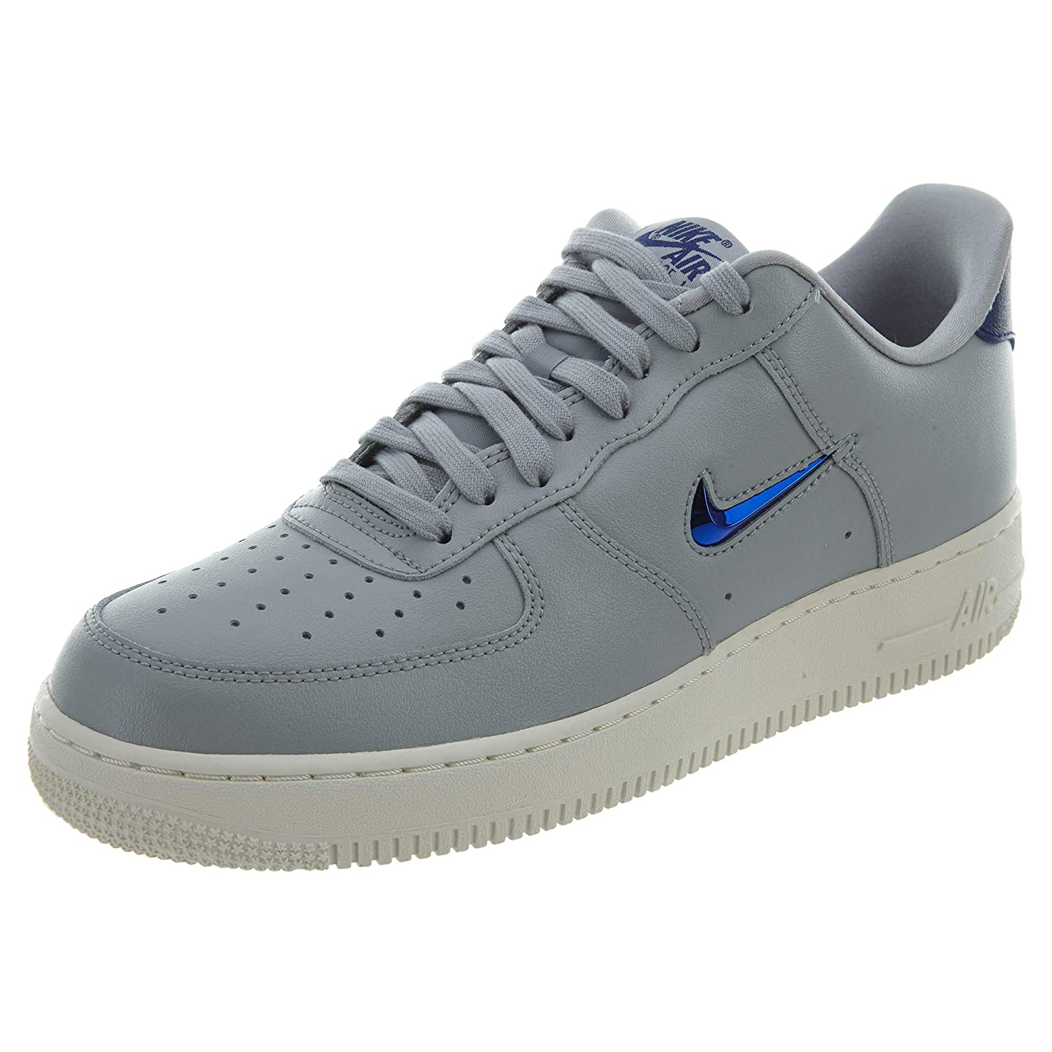 Wolf Grey Deep Royal bluee Nike - Air Force One