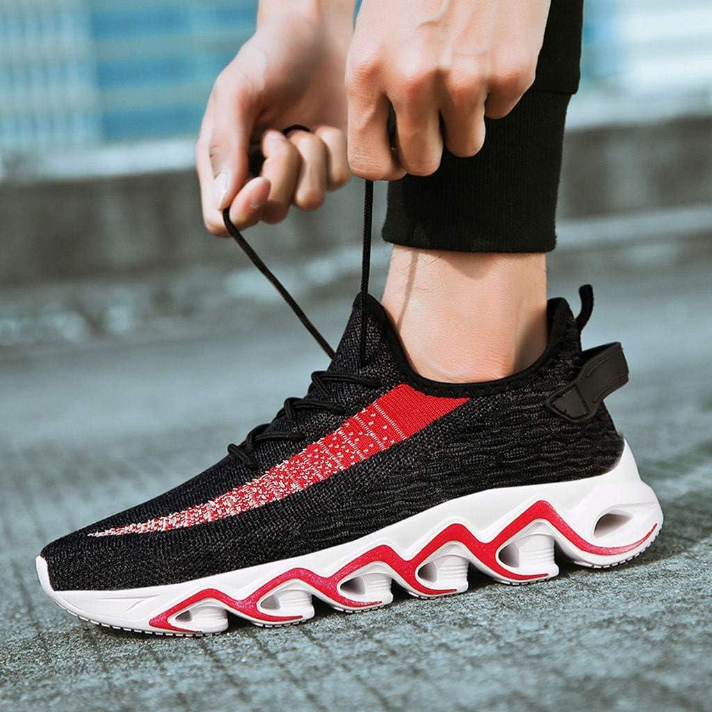 TianWlio Carpe Running - Zapatillas de Verano para Hombre - Zapatillas de Gimnasia para Hombre - Zapatillas de Running para Hombre Rojo 40: Amazon.es: Ropa y accesorios