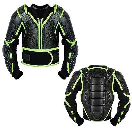 Profirst Global Armadura de seguridad transpirable para motocross, motocicletas y todoterrenos, para niños