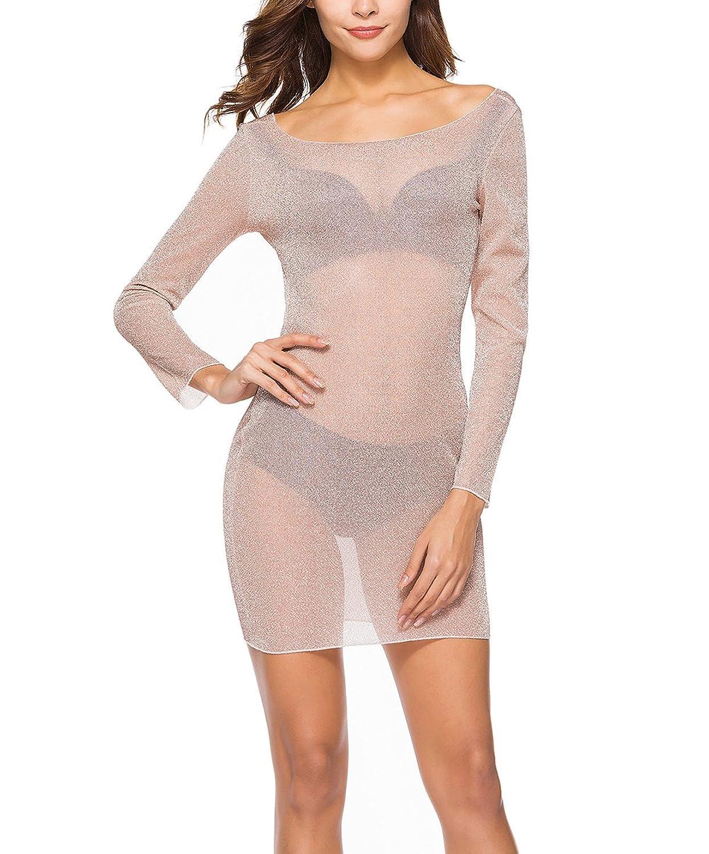 Vestidos De Fiesta Mujer Cortos Verano Elegante Transparentes Casual ...