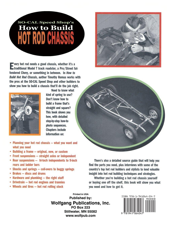 how to build a custom hot rod frame