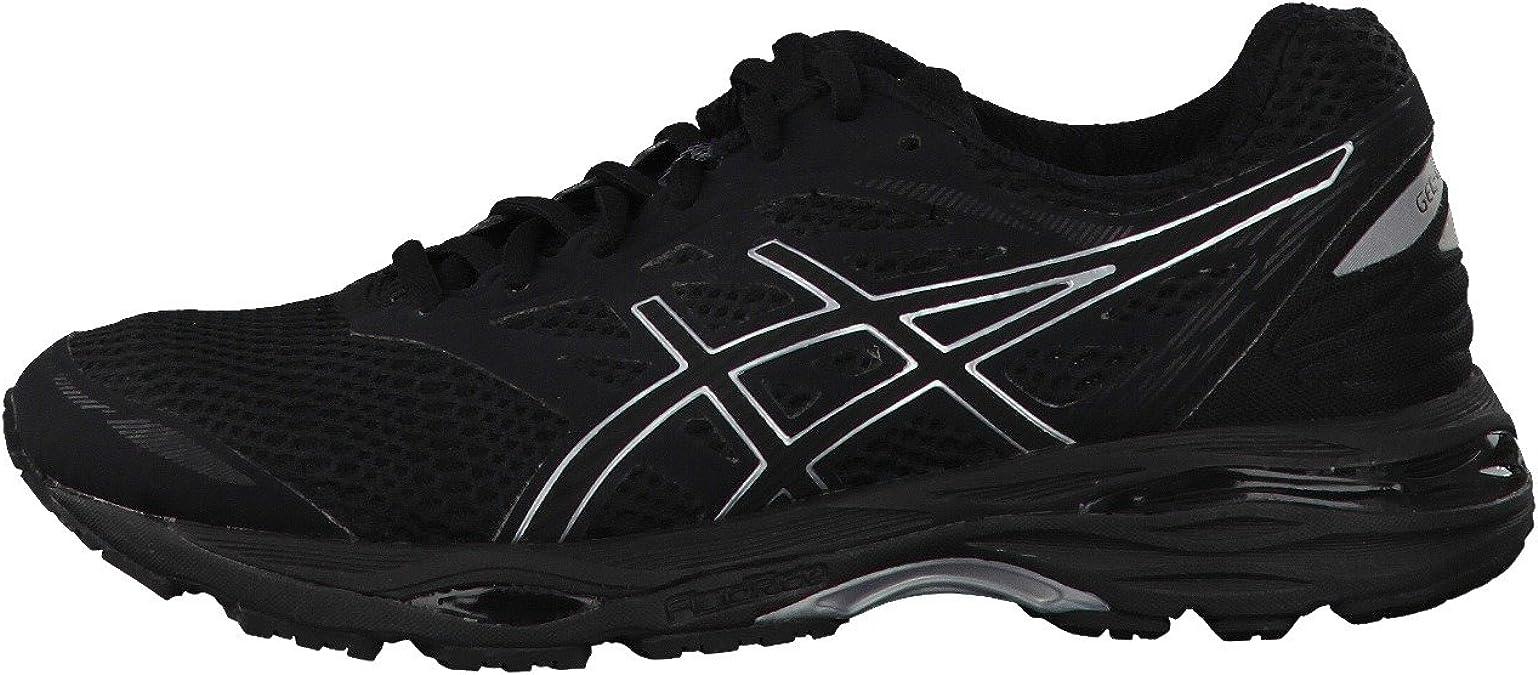 Asics - Gel-Cumulus 18 - Zapatillas Neutras - Black/Silver: Amazon.es: Zapatos y complementos