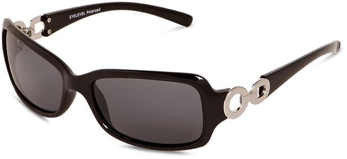 Eyelevel Gafas de sol polarizadas para mujer, color negro, talla talla única