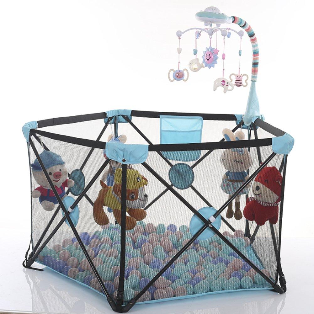 子供のためのベビー サークル,赤ちゃんベビー サークル フェンス安全なクロール ベビー サークル室内フェンスを折り畳み式の家-A B07CVSWNFS 13314 A A