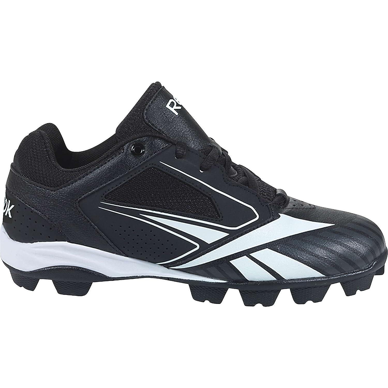 Amazon.com | Reebok Cooperstown MRT Baseball Shoe (Little Kid/Big Kid),  Black/White, 5.5 M US Big Kid | Baseball \u0026 Softball