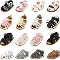 Baby Boys Girls Sandals Soft Rubber Sole Non-Slip Summer Baby Shoes Toddler Infant Flat Shoes First Walkers