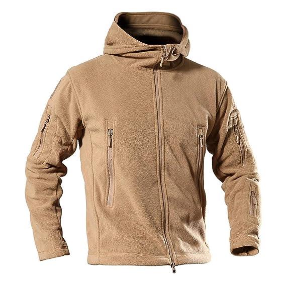 HCFKJ Capa De La Capa De Hombres Militar Tactician Jacket ...
