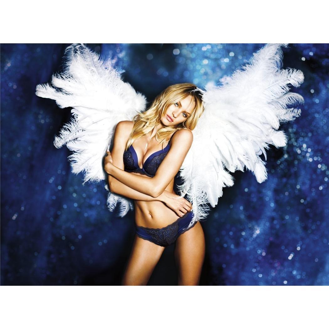 Candice Swanepoelポスターbyシルク印刷#サイズについて( 47 cm X 35 cm、19インチx 14インチ# Uniqueギフト# ce033d B00IT5BGU6