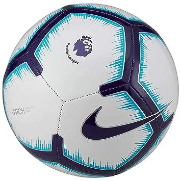 761b3f3e9 Nike PITCH PREMIER LEAGUE FOOTBALL 2018/2019: Amazon.co.uk: Sports ...
