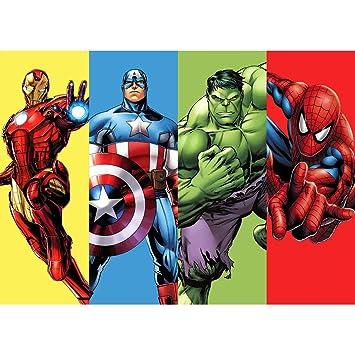 Telón de Fondo de superhéroe para Fiesta de cumpleaños de ...