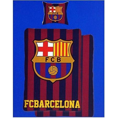 FC Barcelona Edredón, 1 funda de almohada de 80 x 80 cm y 1 x ...