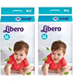 Libero Baby's Open Extra Diaper Large - Pack Of 2