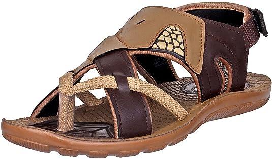 WalkLine Men's Outdoor Sandal & Floaters VPlus19 Men's Fashion Sandals at amazon