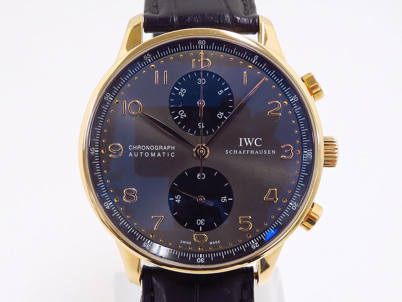 アイダブリュシー IWC ポルトギーゼ IW371482 グレー/ブラック文字盤 メンズ 腕時計 【中古】 B077S67SPN