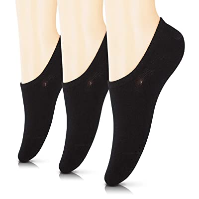 No Show Cotton Socks for Women, 3-15 Pack Thin Casual Invisible Flat Boat Line Socks at Women's Clothing store
