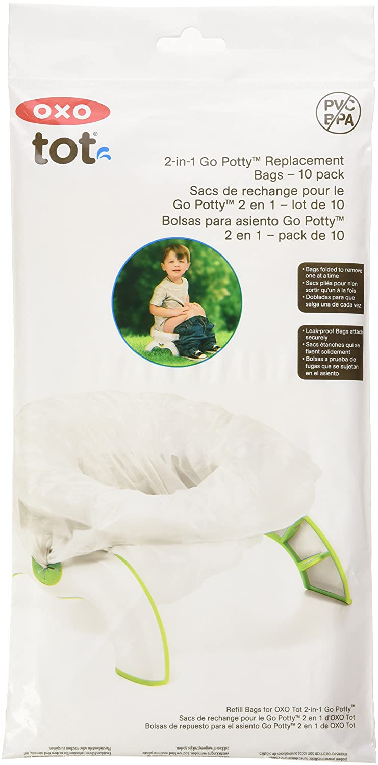 Oxo Tot 2-in-1 Go Potty Refill Bags, 10 Count 6378600