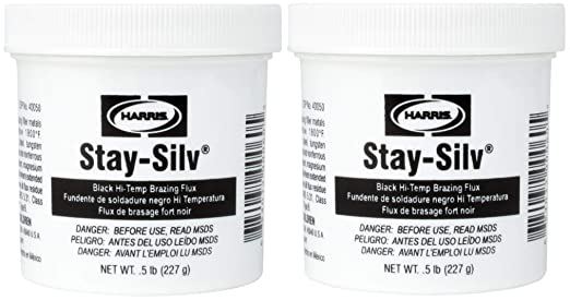 Harris SSBF1 Stay Silv Brazing Flux, 1 lb. Jar, Black (4-(Pack)) - - Amazon.com