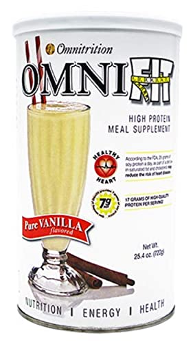 Omnitrition OMNI-Fit High Protein Meal Supplement, Pure Vanilla