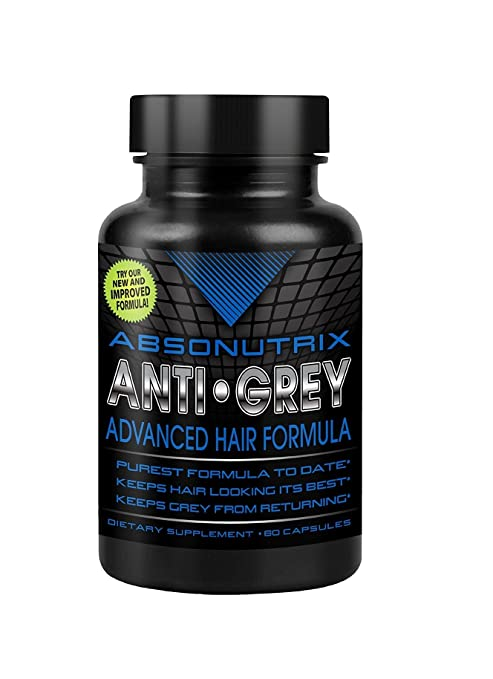 Absonutrix Anti Grey Advanced Hair Formula, 60 capsules