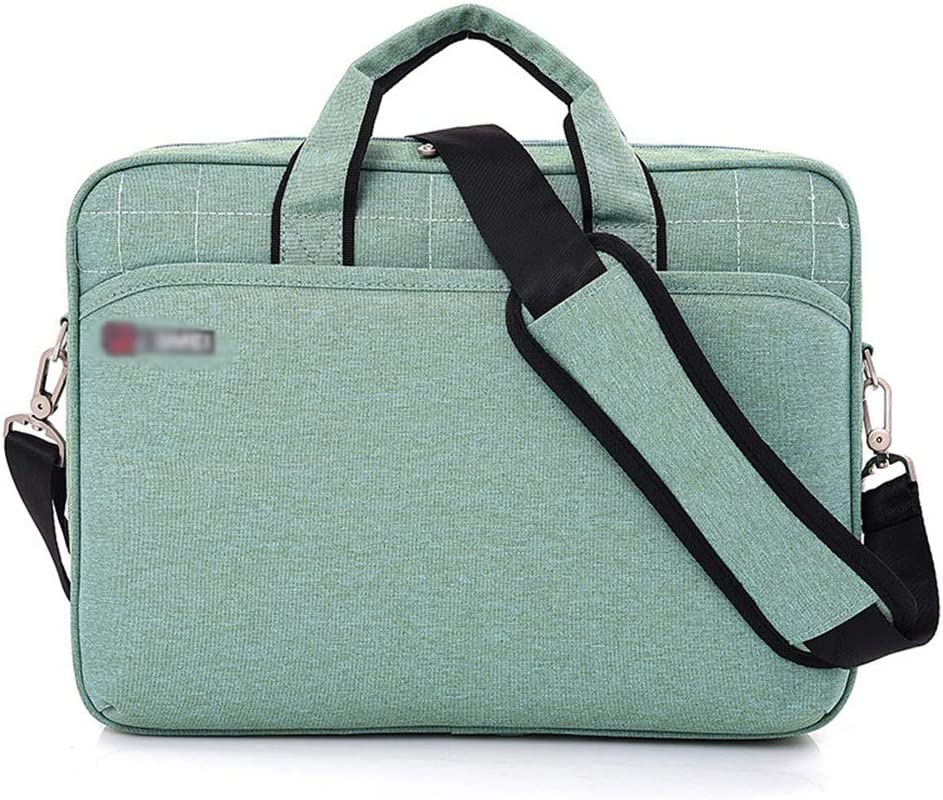 Color : Blue, Size : 15inch Lorachun Laptop Bag 13 14 15.6 Inch Waterproof Notebook Bag for MacBook Air Pro 15.4 Laptop Shoulder Bag for Woman Business Bag for Man 5 Colors Can be Choose