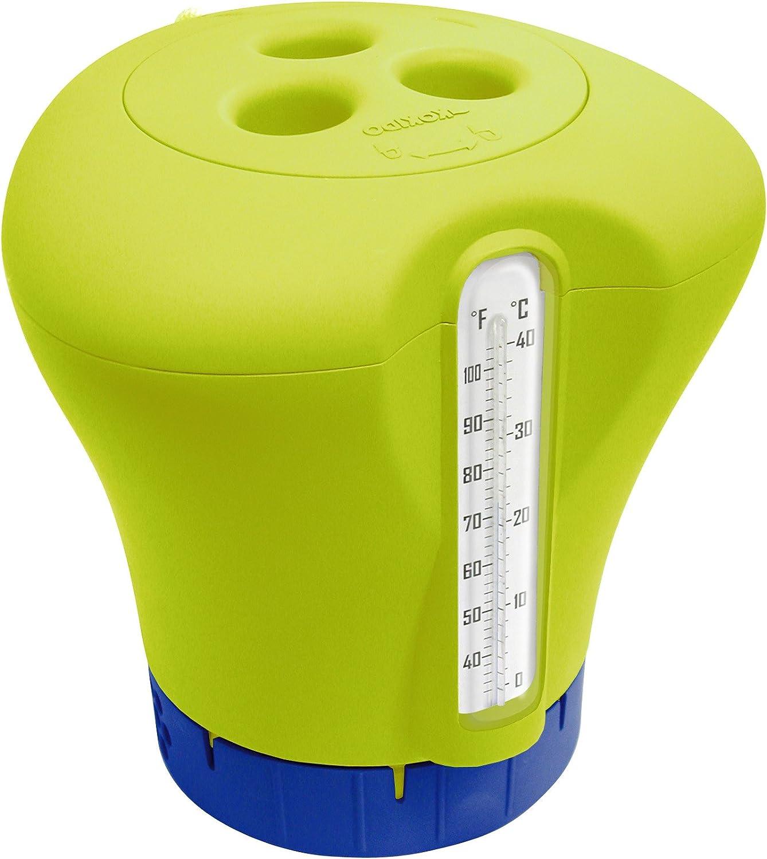 Kokido Thermo-Klor - Dispensador de cloro, con termómetro