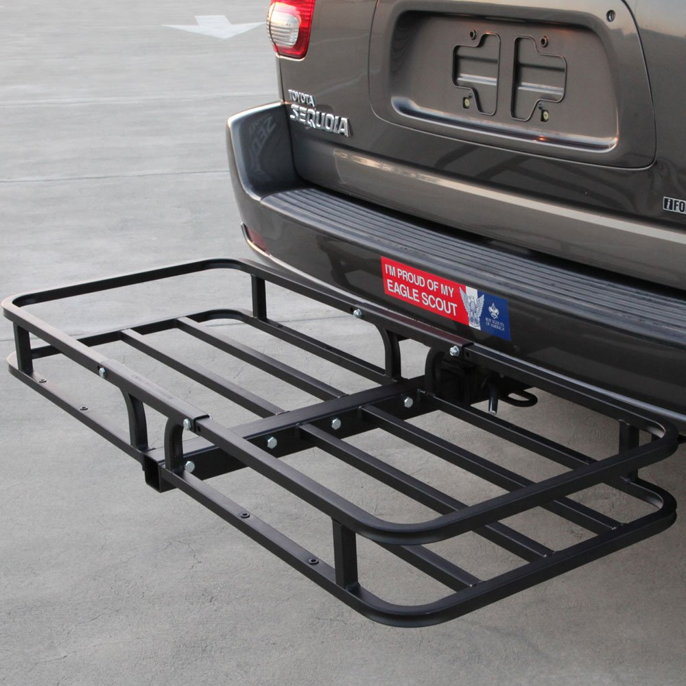 CargoLoc 2-in-1 Hitch Mount and Roof Top Cargo Carrier, 48 x 19.5 32534