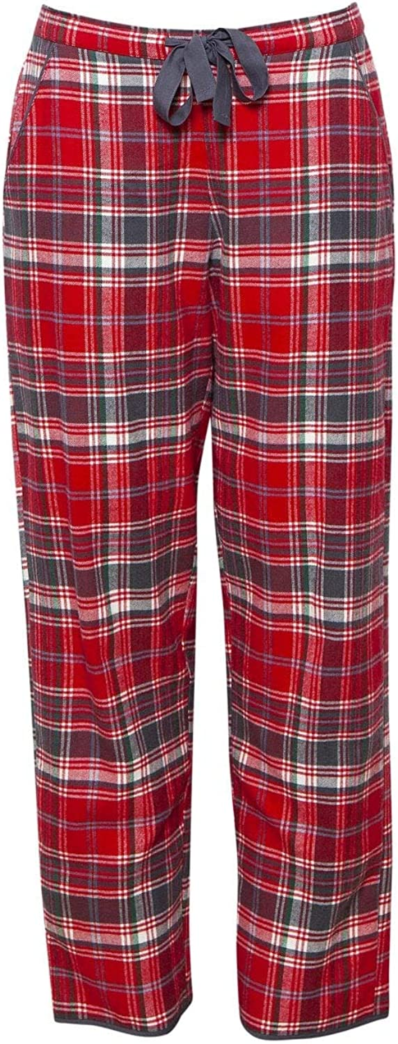 Cyberjammies 4255 Womens Belle Red Mix Check Cotton Pyjama Pant