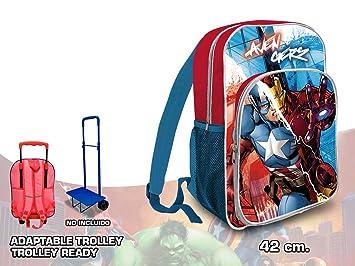 Los Vengadores Mochila Kids Euroswan AV17553: Amazon.es: Juguetes y juegos