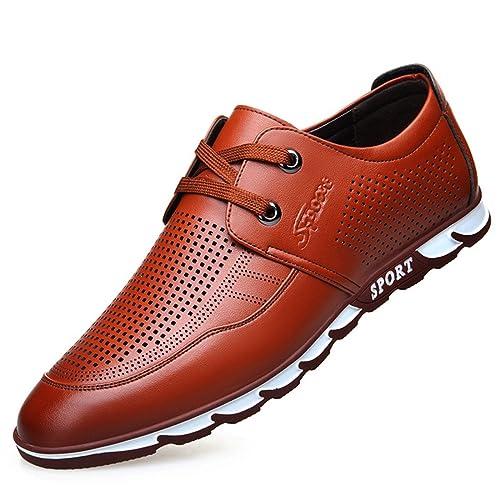 Para Pu Zapatos De Cordones HombreHombre Cuero tQdCxBshro