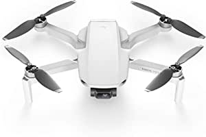 DJI Mavic Mini - Drone FlyCam Quadcopter UAV with 2.7K Camera 3-Axis Gimbal GPS 30min Flight Time, less than 249g, Grey