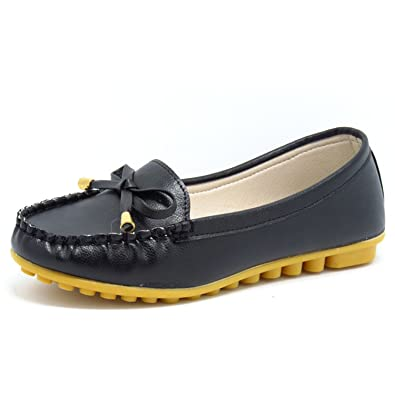 a5235b55ff Women Shoes Flats Black Pink White Loafers Slip On Women's Flat Shoes Black  5.5