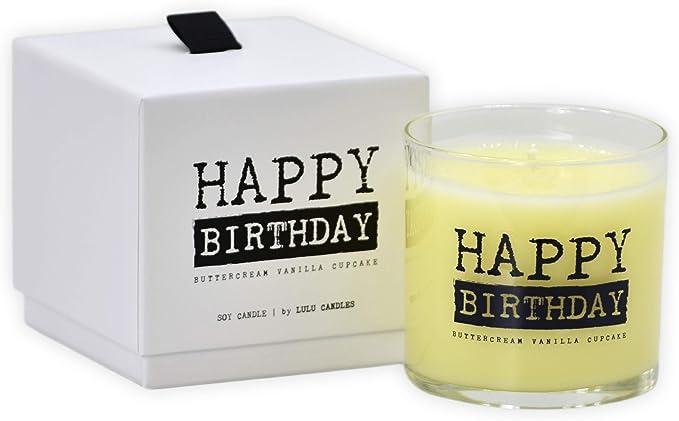 14 oz Birthday Cake Candle Happy Birthday Candle