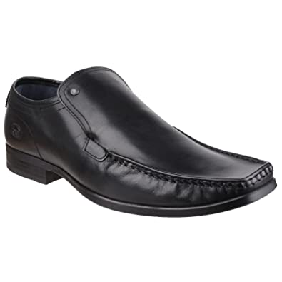 Base London Mens Carnoustie Slip On Casual Leather Shoes