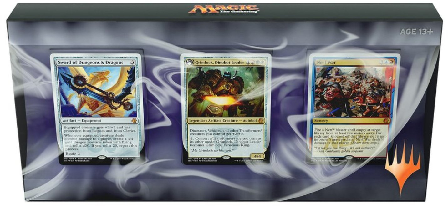 Magic the Gathering Exclusive Hascon 3 Card Set