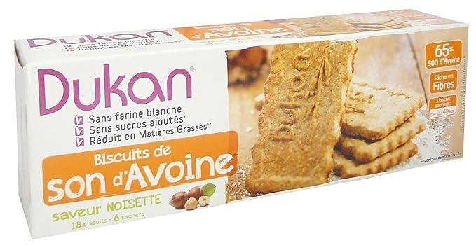 Dukan biscuits noisettes et son davoine 225g