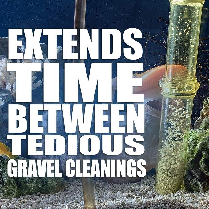 ... Acuario - elimina el exceso de alimento de pescado y residuos - elimina de forma natural las toxinas mejor que los juegos de bombeo - funciona en agua ...