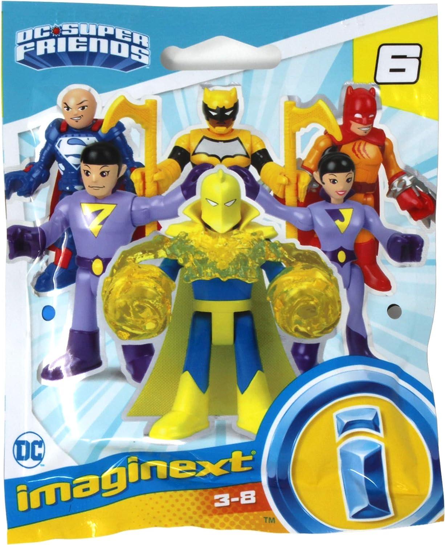 Wonder Twin ZAN Fisher Price Imaginext DC Super Friends Series Six