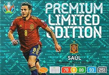Panini Adrenalyn XL UEFA Euro 2020 Saul (España) Premium Edición Limitada Tarjeta: Amazon.es: Juguetes y juegos