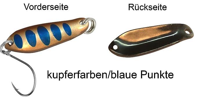 Forellenspoons Forellenköder FTM Spoon Boogie Forellenblinker 1,6g Blinker